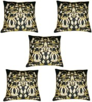 Chandra Impex Printed Cushions Cover(Pack of 5, 40.64 cm*40.64 cm, Multicolor)