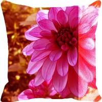 Leaf Designs Printed Cushions Cover(41 cm, Multicolor)