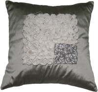 Homewards Floral Cushions Cover(Grey)