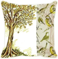 Fabulloso Printed Cushions Cover(45.72 cm*45.72 cm, Multicolor)