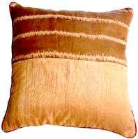 Homeblendz Abstract Cushions Cover(40 cm*40 cm, Beige)
