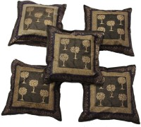 AS42 Paisley Cushions Cover(Pack of 5, 40 cm*40 cm, Multicolor)