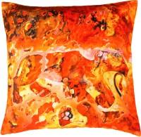Indian Colours Animal Cushions Cover(41 cm*41 cm, Orange)