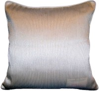 Homeblendz Striped Cushions Cover(40 cm*40 cm, Beige)