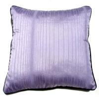 Homeblendz Striped Cushions Cover(40 cm*40 cm, Purple)