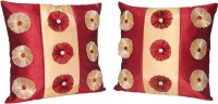 HOME SHINE Floral Cushions Cover(Pack of 2, 40 cm*40 cm, Multicolor)