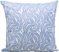 Store Indya Abstract Cushions Cover(Pack of 2, 45.72 cm*45.72 cm, Blue)