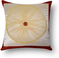 First Row Embroidered Cushions Cover(40 cm, Multicolor)