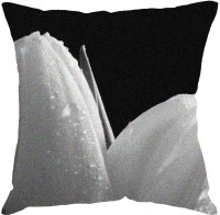 Fabulloso Printed Cushions Cover(31 cm*31 cm, Black, White)
