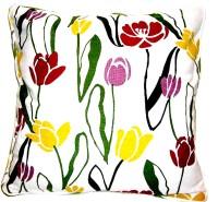 Homeblendz Damask Cushions Cover(40 cm*40 cm, Multicolor)