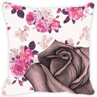 Leaf Designs Abstract Cushions Cover(41 cm*41 cm, Multicolor)