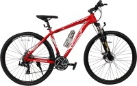 COSMIC TRIUM 29 INCH 21 SPEED HARDTRAIL BICYCLE RED/WHITE - SPECIAL EDITION 29 T Mountain/Hardtail Cycle(21 Gear, Red, White)