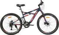 HERCULES Hannibal 26T 21Spd NightBlack&Red 26 T 27 Speed Hybrid Cycle(Red)