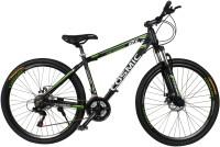 COSMIC ENTOURER 27.5 MTB 21 SPEED BICYCLE BLACK/GREEN-SPECIAL EDITION 27 T 21 Speed Hybrid Cycle(Black, Green)