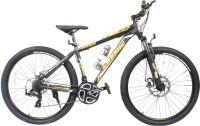COSMIC TRIUM 27.5 INCH MTB BICYCLE 21 SPEED BLACK/GOLD-PREMIUM EDITION 28 T 21 Speed Hybrid Cycle(Black)
