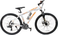 COSMIC TRIUM 27.5 INCH MTB BICYCLE 21 SPEED WHITE/ORANGE-PREMIUM EDITION 28 T Mountain/Hardtail Cycle(21 Gear, White)