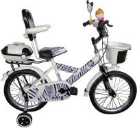 HLX-NMC KIDS BICYCLE 16 BOWTIE ZEBRA STLYE 16 T Single Speed Recreation Cycle(White, Black)