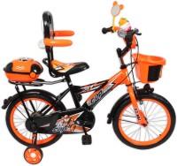 HLX-NMC KIDS BICYCLE 16 BOWTIE ORANGE/BLACK 16 T Single Speed Recreation Cycle(Orange, Black)