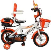 HLX-NMC KIDS BICYCLE 12 BOWTIE ORANGE/WHITE 12 T Single Speed Recreation Cycle(Orange, White)