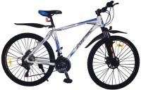 COSMIC ELDORADO MTB BICYCLE (BLUE/WHITE) 26 T Mountain/Hardtail Cycle(21 Gear, Blue, White)