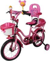 HLX-NMC KIDS BICYCLE 14 BOWTIE DARK PINK 14 T Single Speed Recreation Cycle(Pink)