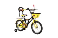 BSA CHAMP TOONZ 20 INCH CYCLE 20 T Recreation Cycle(Single Speed, Black, Yellow)