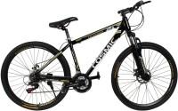 COSMIC ENTOURER 27.5 MTB 21 SPEED BICYCLE BLACK/GOLD-SPECIAL EDITION 27 T 21 Speed Hybrid Cycle(Black, Gold)