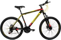 COSMIC MONDO 21 SPEED MTB BICYCLE BLACK/YELLOW-SPECIAL EDITION 26 T 21 Gear Mountain/Hardtail Cycle(Black, Yellow)