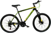 COSMIC MONDO 21 SPEED MTB BICYCLE BLACK/GREEN-SPECIAL EDITION 26 T Mountain/Hardtail Cycle(21 Gear, Black, Green)