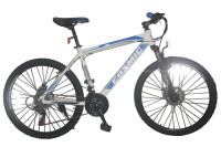 COSMIC FLASH MTB BICYCLE (21 SPEED) WHITE/BLUE 26 T 21 Speed Hybrid Cycle(White, Blue)