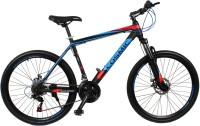 COSMIC MONDO 21 SPEED MTB BICYCLE BLACK/BLUE-SPECIAL EDITION 26 T 21 Gear Mountain/Hardtail Cycle(Black, Blue)