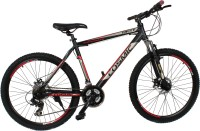 COSMIC TRUCE 21 SPEED HARD TAIL BICYCLE BLACK/RED - SPECIAL EDITION 26 T Mountain/Hardtail Cycle(21 Gear, Black, Red)