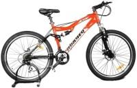 HERCULES A500 26T 24Spd Matt Black&Orange 26 T 27 Speed Hybrid Cycle(Orange)