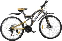COSMIC VOYAGER 21 SPEED MTB BICYCLE BLACK/GOLD-PREMIUM EDITION 26 T Mountain Cycle(21 Gear, Black, Gold)