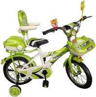 HLX-NMC KIDS BICYCLE 14 CAR-X WHITE/GREEN 14 T Single Speed Recreation Cycle(White, Green)