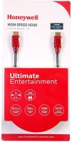 Honeywell Honeywell Micro HDMI cable 2 Mtrs 2 m HDMI Cable(Compatible with 3D TV & 4K, 4K X 2K HDMI, Red&Black)