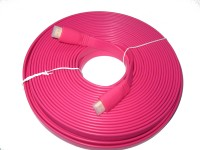 Sheen HDMI Cable 1.4v HDMI Cable(Pink)