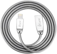 iKare 8 Pin USB Data Cable for iPhone 7 / 7 Plus / 6 6s / 6 6S Plus / SE 5S 5 / iPad Pro Air Air 2 / Mini 4 3 2 Lightning Cable(Metal)