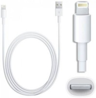 SSTC for iphone 6 /6s /6 plus /6s plus/ 7/ 7 Plus +, ipad air / air 2, ipad mini / mini 2 / mini 3, ipod nano Lightning Cable(White)