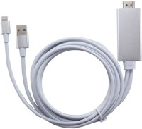 Smart Tech HD Lightning Cable(Silver)