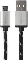Boompods Retro Micro USB Sync & Charge Cable(Black)