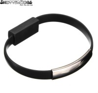 ShutterBugs Cable Bracelet For All Android Smartphones Sync & Charge Cable(Multicolor)