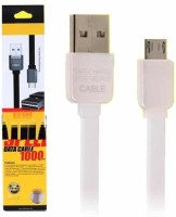VibeX � Remax Safe & Speed Micro USB Cord 1000mm For Android V8 Sync & Charge Cable(White)
