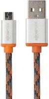 Boompods Retro Micro USB Sync & Charge Cable(Orange)