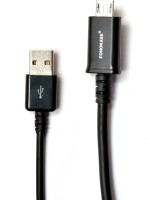 Fonokase -Protect in Style Fono-18039 Sync & Charge Cable(Black)
