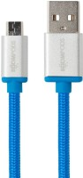 Boompods Retro Micro USB Sync & Charge Cable(Blue)