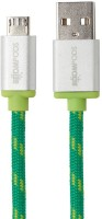 Boompods Retro Micro USB Sync & Charge Cable(Green)