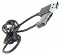 SmartPower USB Charger and Sync Data Cable For ASUS Eee Pad Tablet Transformer TF300T USB Cable(Black)