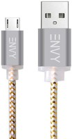 ENVY Micro USB Cable 2.4 Amp USB Cable(Grey)