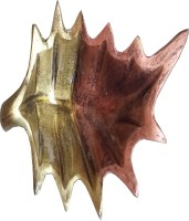 Decor8 Aluminium Decorative Platter(Gold, Copper)